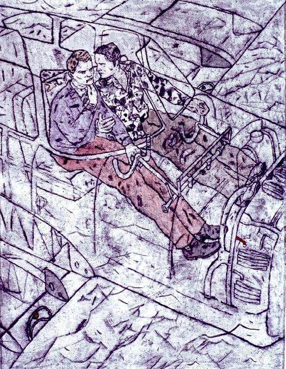 Илья Исупов. Офорты. Изображение № 10.
