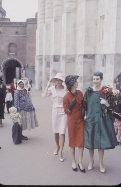 1959 г. Christian Dior в СССР. Изображение № 4.