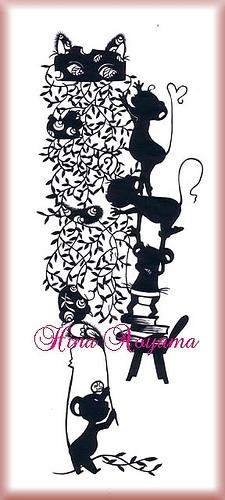 Вырезанные избумаги картины – Hina Aoyama. Изображение № 4.