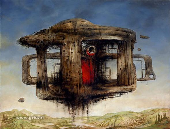 Фантастический реализм Питера Грича. Изображение № 9.