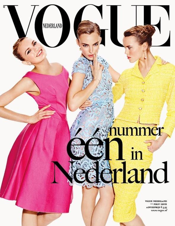 Обложки: i-D, Harper's Bazaar и Vogue. Изображение № 5.