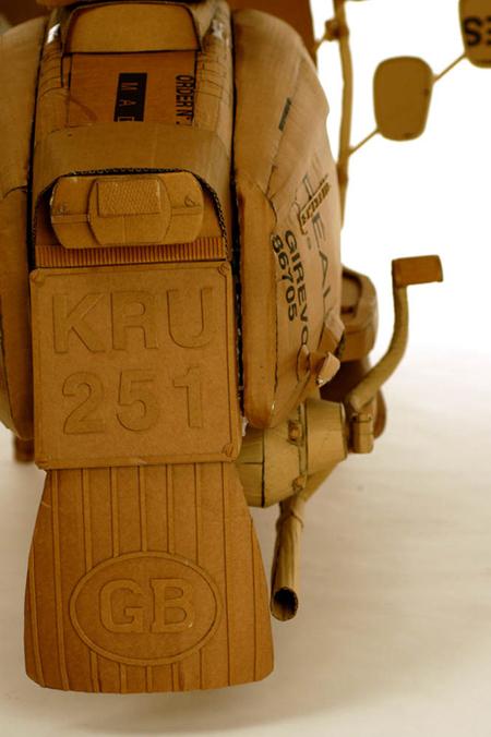 Chris Gilmour картонный скульптор. Изображение № 10.