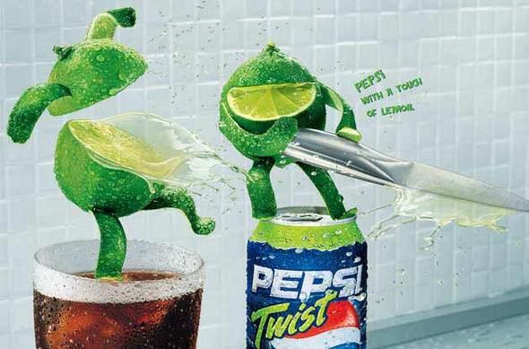 Alexandre Ermel. Реклама Pepsi Twist. Изображение № 5.