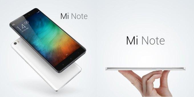 Xiaomi показала новый смартфон Mi Note. Изображение № 1.