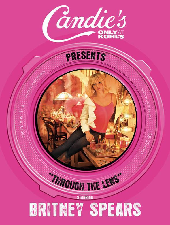 Бритни Спирс в новой рекламе Candie's. Изображение № 2.