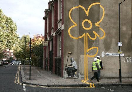 Изображение 13. Арт-терроризм Banksy.. Изображение № 15.