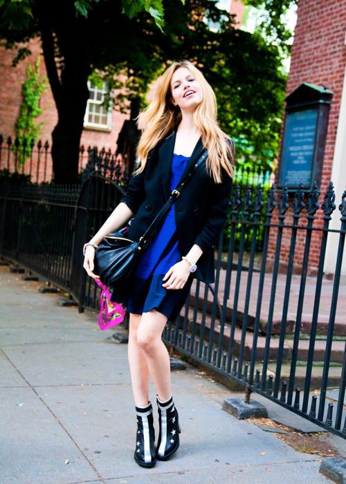 City Looks: Стиль моделей в блоге Bonae L'Amour. Изображение № 18.