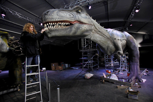 """""""Dinosaurs unleashed"""" или динозавры в Лондоне. Изображение № 3."""