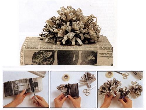 55 идей для упаковки новогодних подарков. Изображение №126.