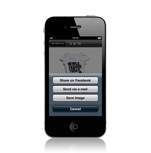 Изображение 7. У H&M появилось приложение для iPhone.. Изображение № 7.