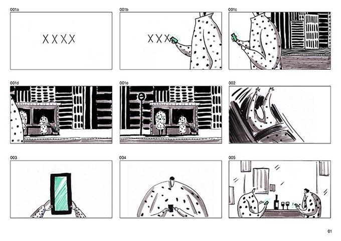 Короткометражка дня: китайская анимация о смартфоне-зомби. Изображение № 6.