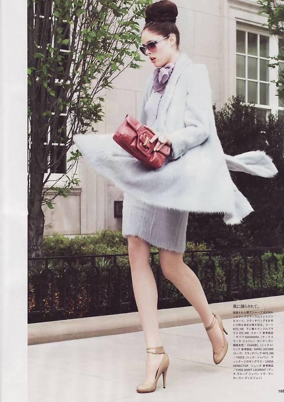 Coco Rocha. Vogue Japan(August 2008). Изображение № 4.