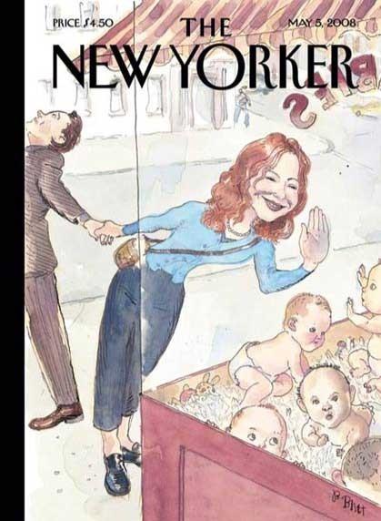 10 иллюстраторов журнала New Yorker. Изображение №68.
