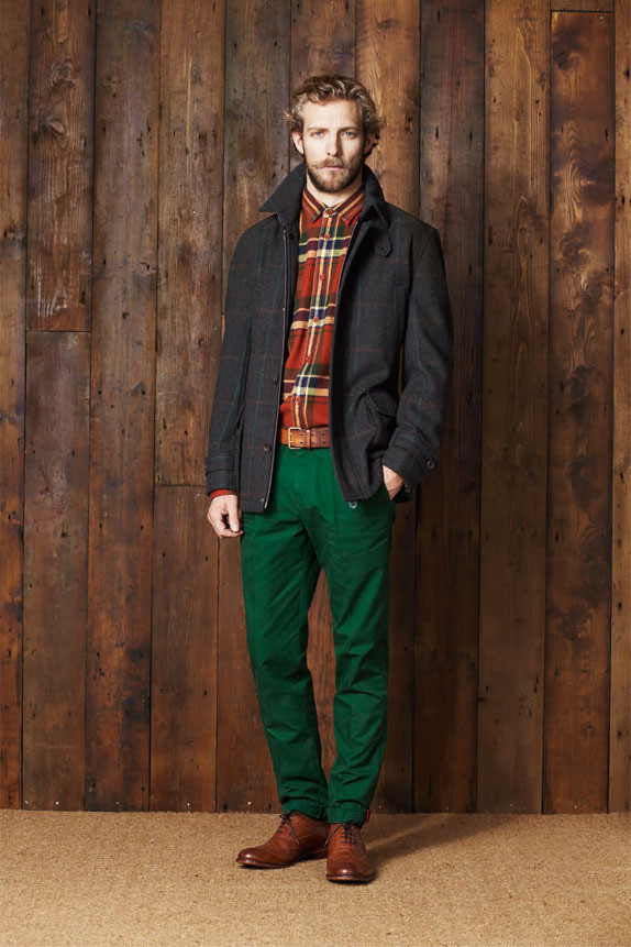 Ben Sherman Lookbook AW11. Изображение № 21.