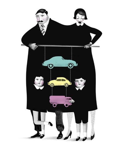Юношеский Сюрреализм – Иллюстрации Брэтта Райдера. Изображение № 2.