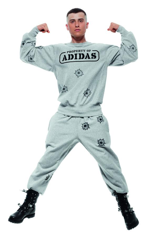 Лукбуки: Джереми Скотт и Дэвид Бекхэм для Adidas Originals. Изображение № 35.
