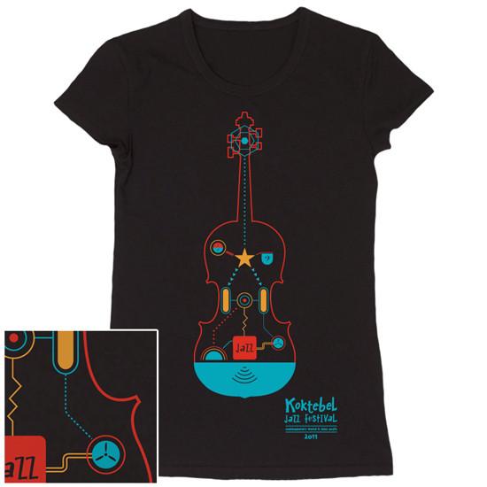 Изображение 64. Кастинг принтов для футболок SEKTA: Koktebel Jazz Fest.. Изображение № 64.