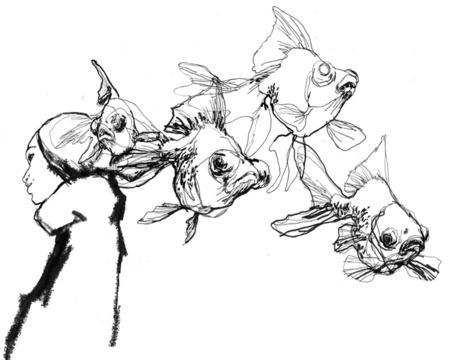 Гуру акварельной графики илиграфичной акварели. Изображение № 16.