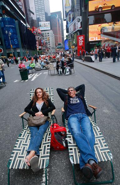 Площадь Таймс-сквер стала пешеходной. Изображение № 2.