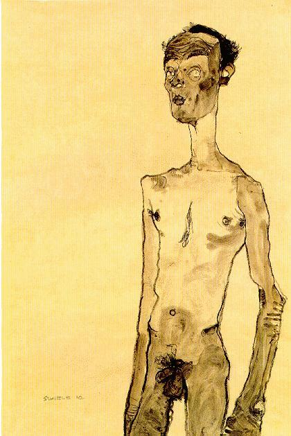Эгон Шиле. Эротика вискусстве живописи ирисунка. Изображение № 11.