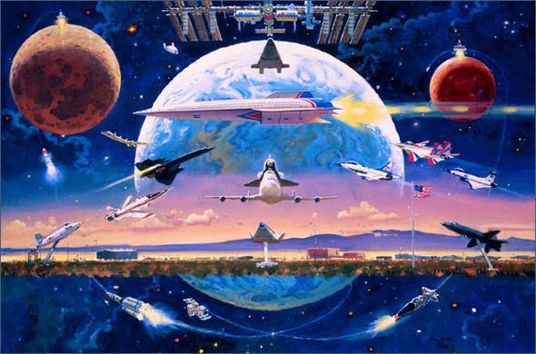 Каким было будущее. Космореализм Роберта МакКолла. Изображение № 1.