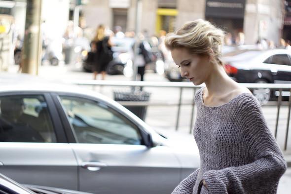 Milan Fashion Week: Модели после показов. Изображение № 6.