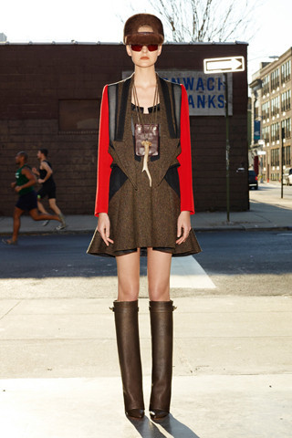 Givenchy Pre-Fall 2012. Изображение № 5.