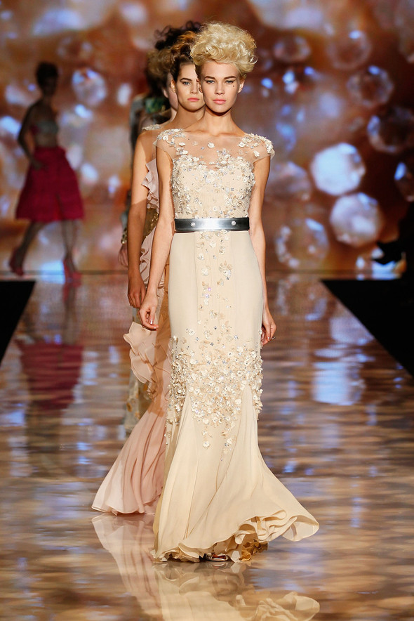 New York Fashion Week: Badgley Mischka Spring 2012. Изображение № 21.