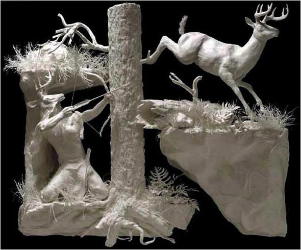 Бумажные скульптуры. Изображение № 7.