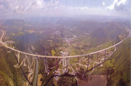 Самый высокий транспортный мост вмире. Изображение № 5.