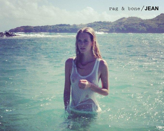 Камила Роу сняла Поппи Делевинь для Rag & Bone. Изображение № 16.