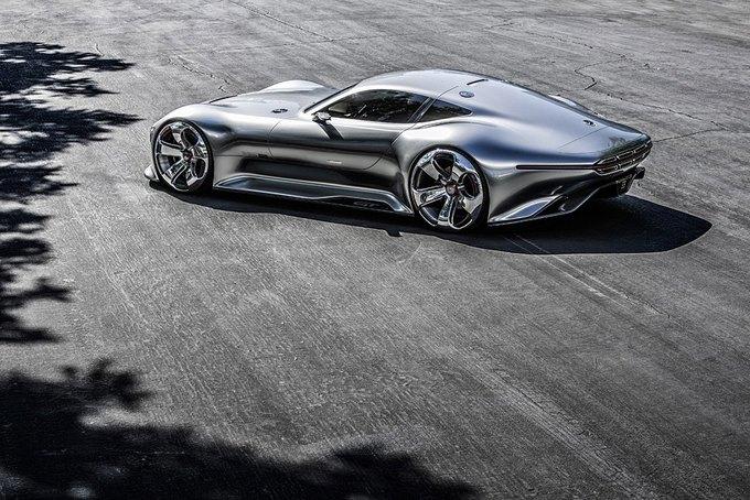 Mercedes-Benz разработала концепт спорткара для новой части Gran Turismo. Изображение № 1.
