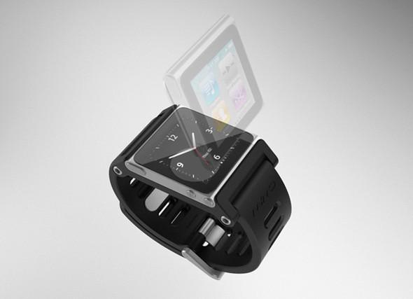 Элегантное превращение iPod nano в эффектные наручные часы. Изображение № 13.