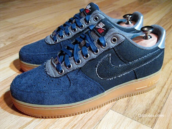 Nike Air Force 1 Bespoke Bone Rack by Jason Curtin. Изображение № 3.