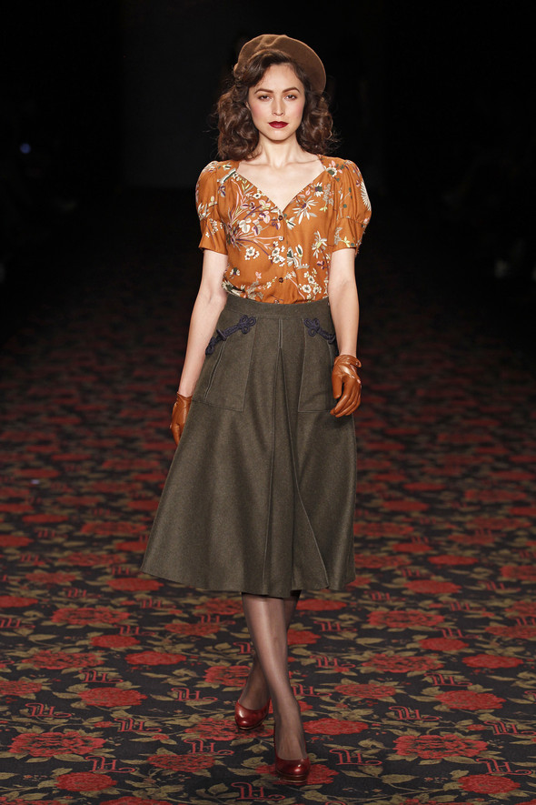 Berlin Fashion Week A/W 2012: Lena Hoschek. Изображение № 35.