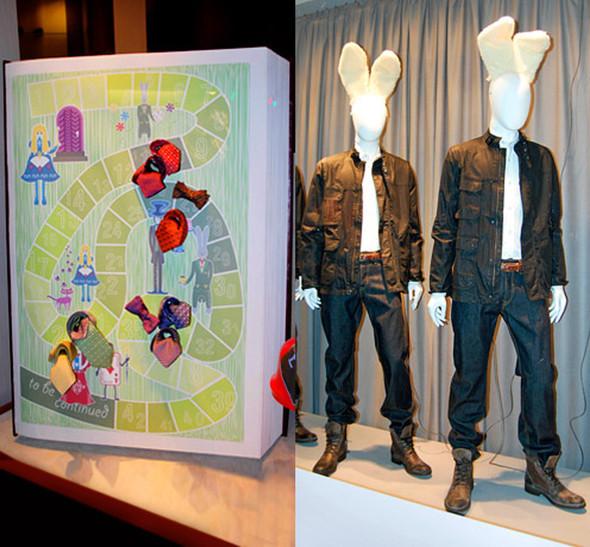 Alice In Wonderland In Fashion Retail 2010. Изображение № 2.