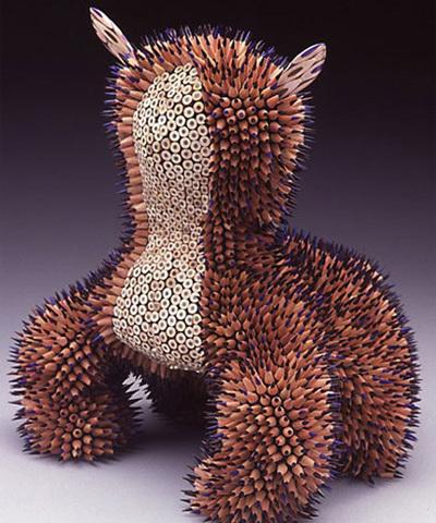 Скульптуры изкарандашей. Изображение № 1.