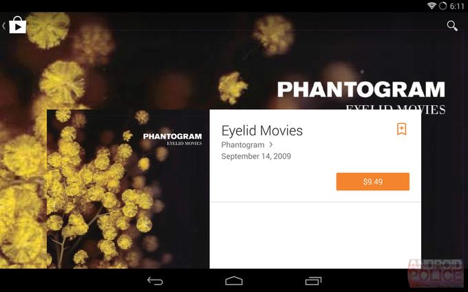 Возможный редизайн интерфейса Google Play для планшетов. Изображение № 6.