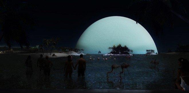 В Майами хотят построить отель в виде Солнца. Изображение № 2.