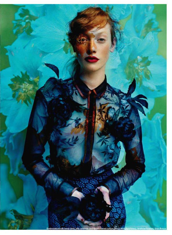Съёмка: Шанталь Стаффор-Аббот для Elle. Изображение № 8.