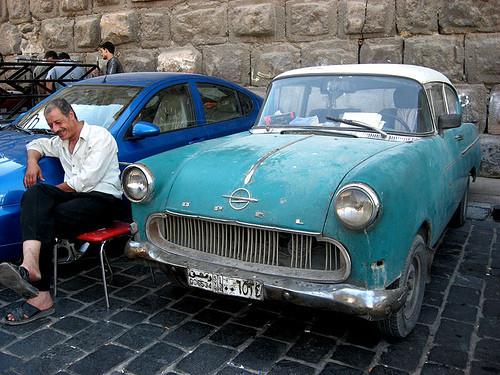Ретро-автомобили в Сирии. Изображение № 12.