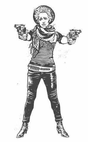 Девушки с оружием от Frank Barbara. Изображение № 36.