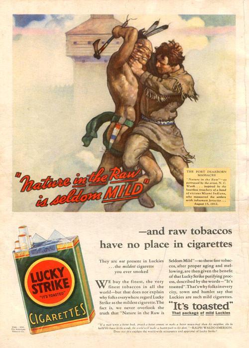 Винтажная реклама табака. Изображение № 5.