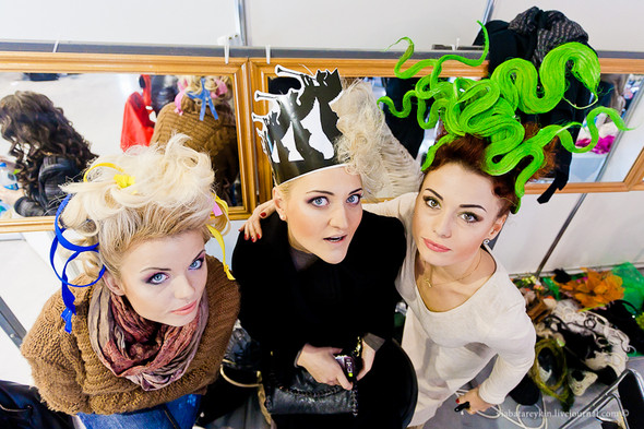 Backstage Ukrainian Fashion Week. Изображение № 26.