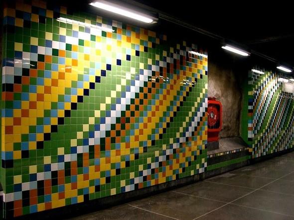 Шведский метрополитен. Изображение № 35.