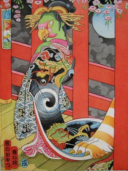 Звериная Япония Мойры Хан. Изображение № 17.