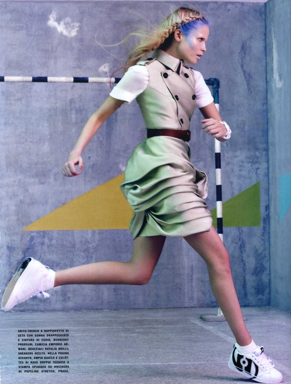 Vogue Italia March 2010 Glam and Sporty. Изображение № 13.