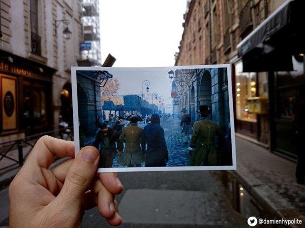 Дизайнер сравнил Париж в Assassin's Creеd и реальности. Изображение № 6.