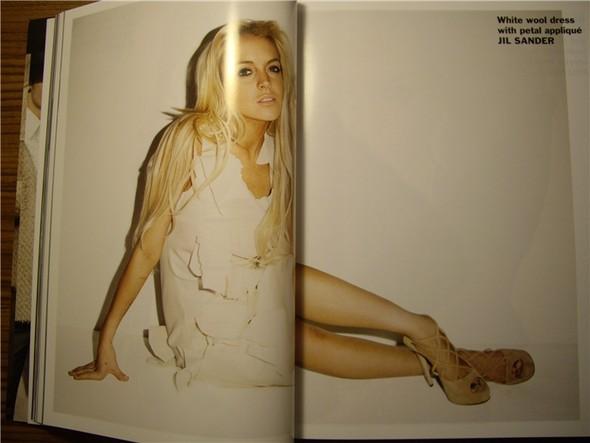 Линдси Лохан для Purple Fashion Magazine (продолжение). Изображение № 16.