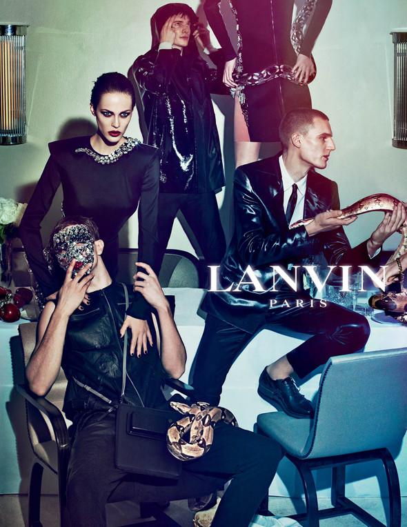 Кампания: Lanvin SS 2012. Изображение № 8.